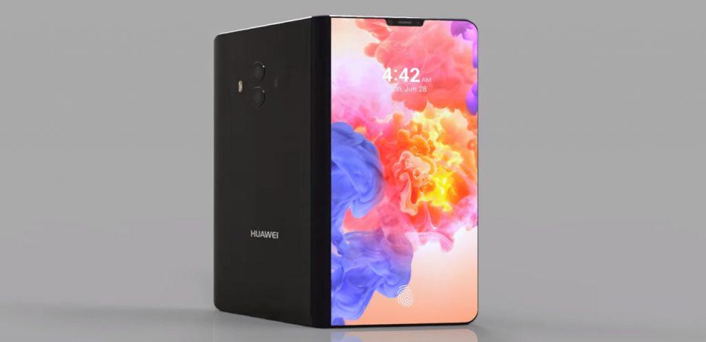 Huawei mat x pliable