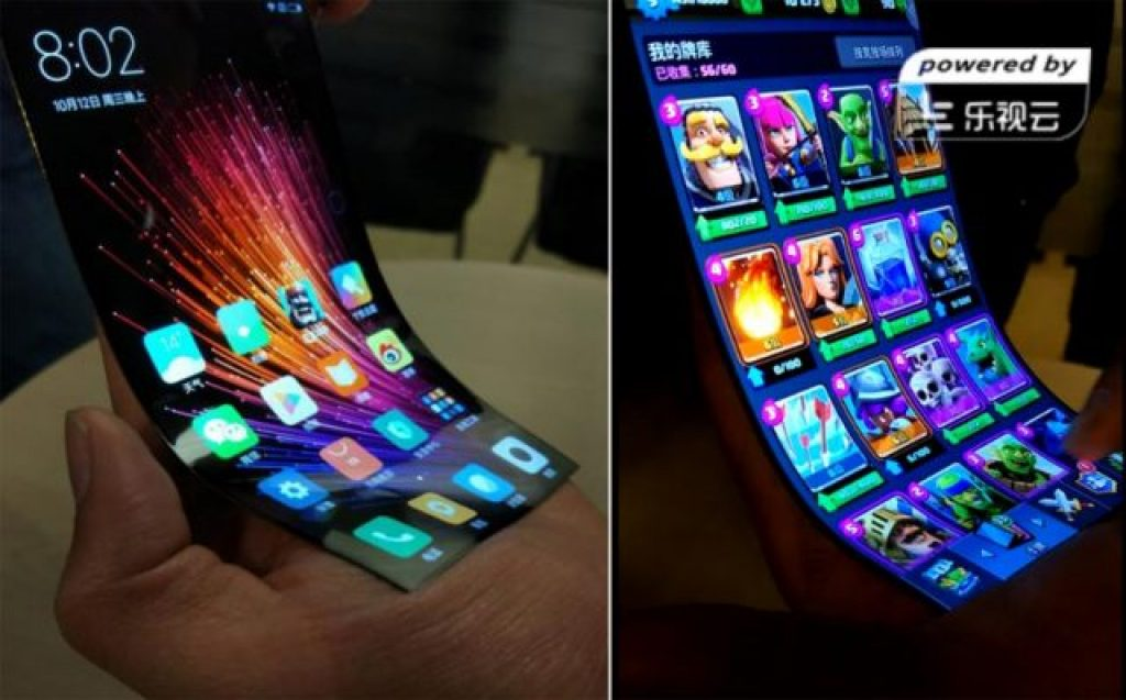 xiaomi smartphone pliable
