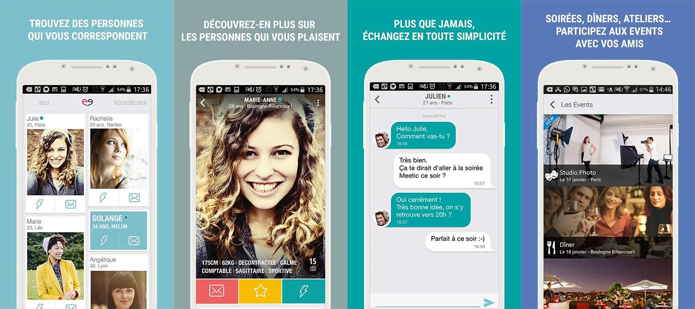 meetic smartphone