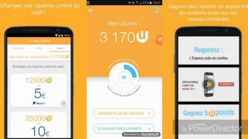 design ulike app argent mobile