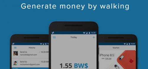 faire de l'argent juste en marchant avec bitwalking