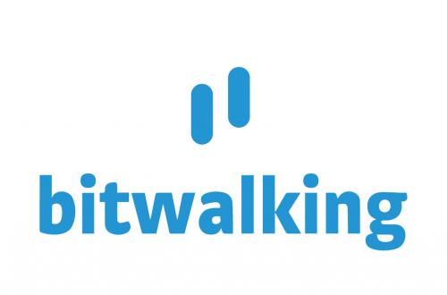 logo application mobile bitwalking