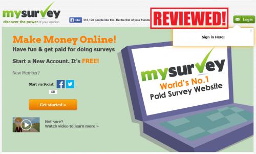 publicité my survey sondages en ligne