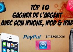 Le top 10 des applications mobiles rémunérées – Edition 2019